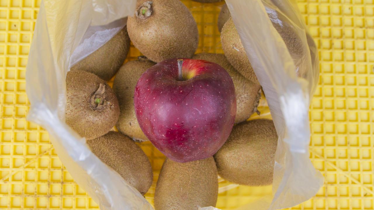 リンゴ1個につきキウイは10~15個